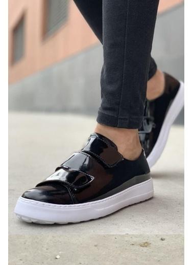 Chekich CH007 Rugan BT Erkek Ayakkabı SIYAH Siyah